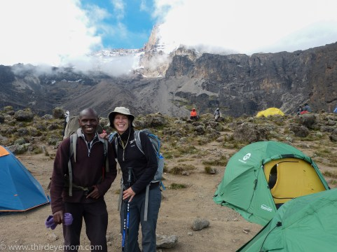 Barranco Camp Machame Route Kilimanjaro