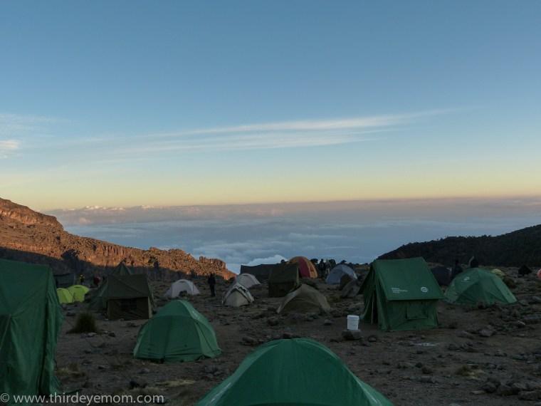Kilimanjaro hike to Barranco Camp Machame Route