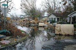 Mississippi: Hurricane Katrina Damage. Photo Credit: Save the Children