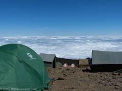 Hike to Karanga Camp Machame Route Kilimanjaro