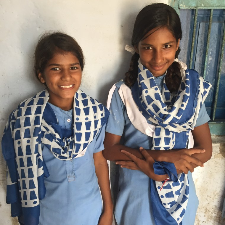 India Ajmer Bandarsinghri School Girls Education EG