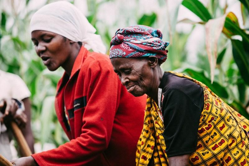 Women farmers in Rwanda. Photo by Arnelle Lozada