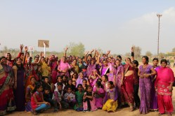 Anchal artisans celebrating International Women's Day