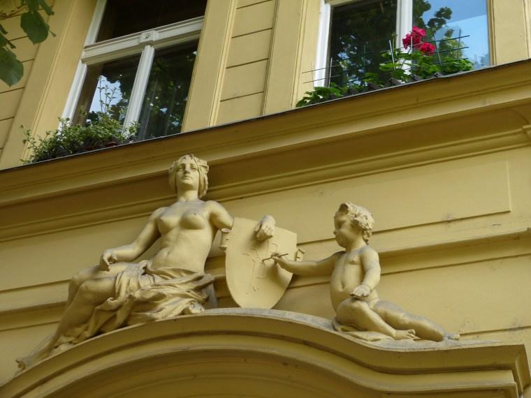 Decorative windows Prague