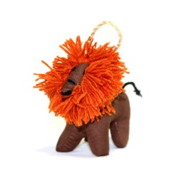 Stuffed Lion Ornament