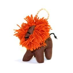 Stuffed Lion Ornament