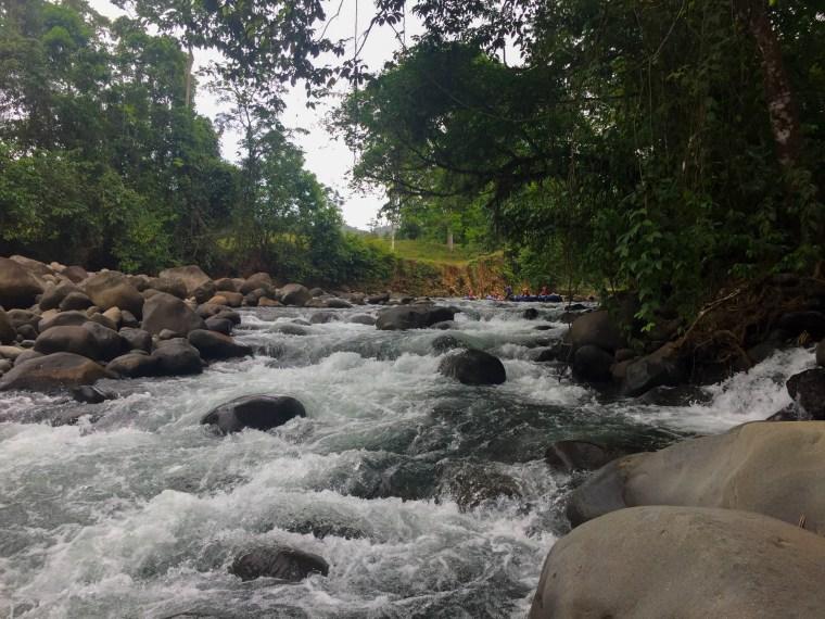Tubing in Rio Frio, Costa Rica