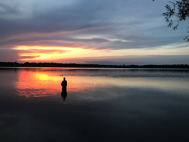 Sunset, Lake Harriet, Minneapolis, MN