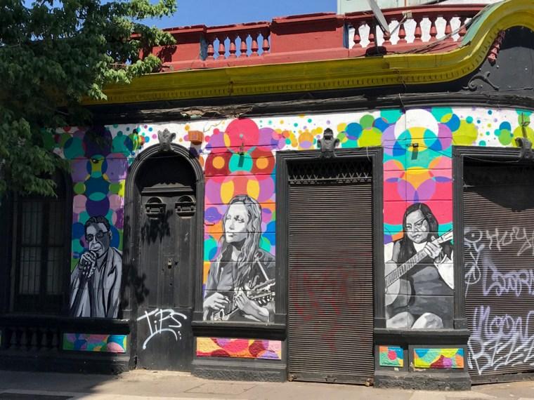 Barrio Bellavista, Santiago, Chile