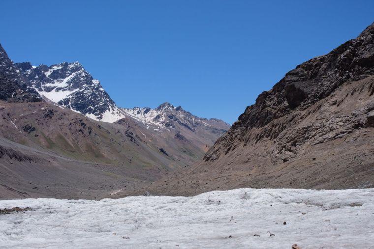 Juncal Glacier, Chile