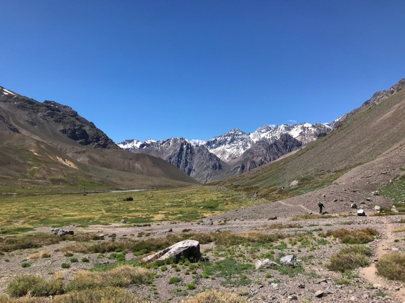 Parque Andino Juncal, Chile