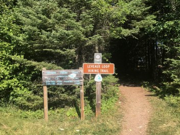 Leveaux Mountain Trail, Lake Superior hiking trail