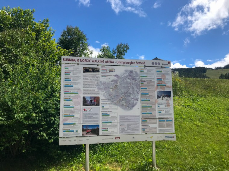 Seefeld Trail Map