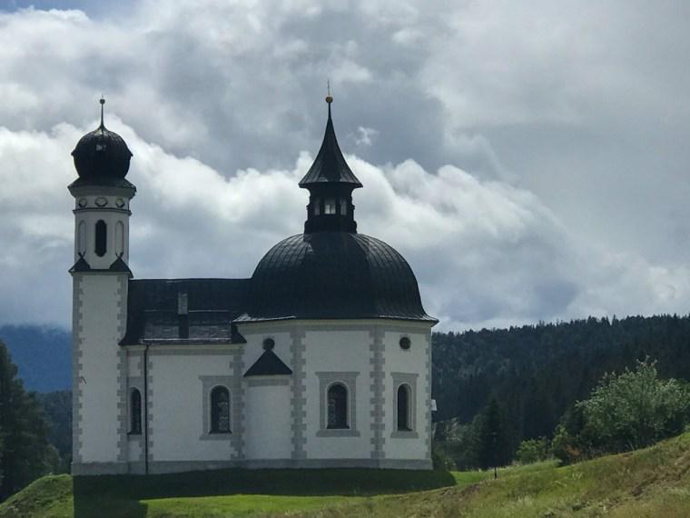 The Seekirchl Church, Seefeld Austria