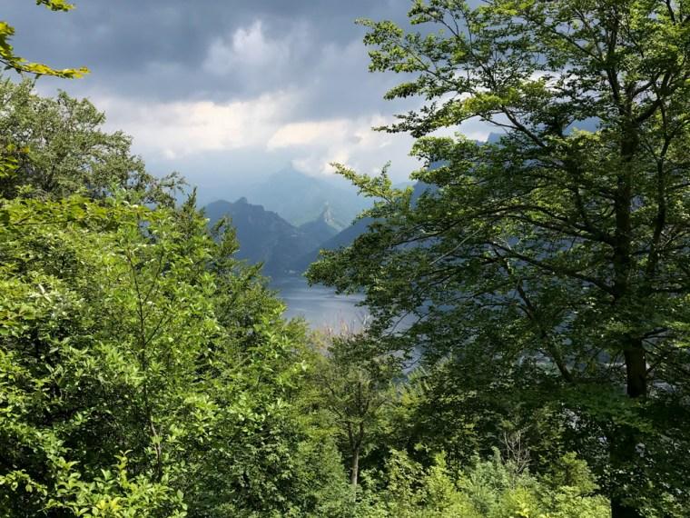 Lake Traunsee, Ebensee, Austria