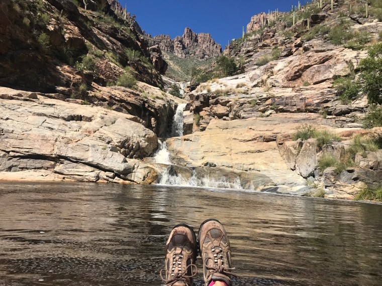 Hike to Seven Falls, Tucson, Arizona