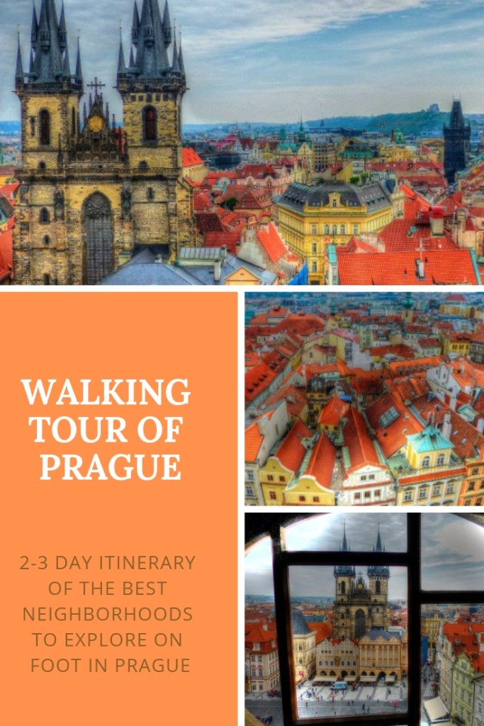 Prague is a gorgeous city and with so much to see, it can become overwhelming. This guide focuses on the top touristic neighborhoods to see first for old world charm and architectural bliss:  Malá Strana (Lesser Town), Old Town (Staré Město), Malá Strana (Lesser Town), and Hradčany (Prague Castle). All can be done on your own at a leisurely pace in two to three days.