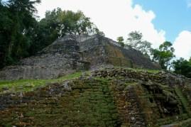 Jaguar Temple Lamanai Belize
