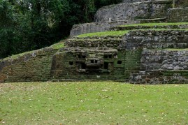 Jaguar Temple Lamanai Belize