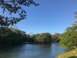 Crossing the Mopan River, Belize