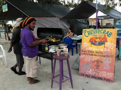 Caye Caulker Belize street food