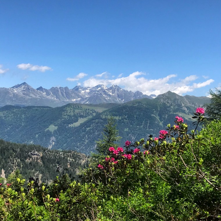 Hike at Lac Champex in Switzerland