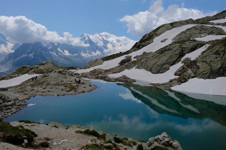 Hike to Lac Blanc, Chamonix