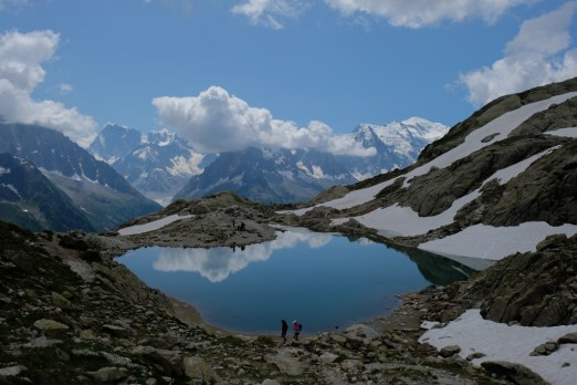 Hike to Lac Blanc in Chamonix