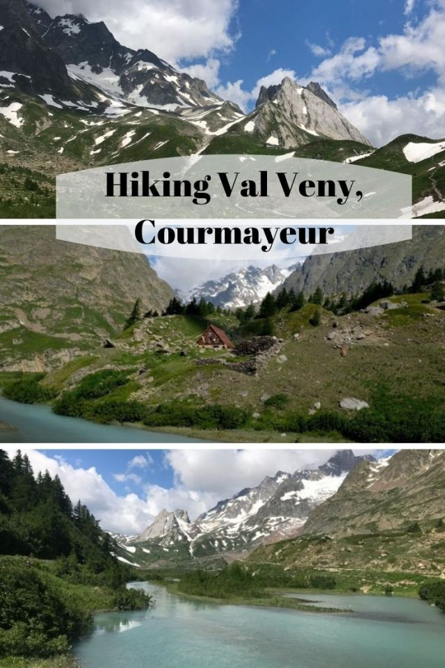 After an incredible first hike along our taste of the Tour de Mont Blanc (TMB) into Courmayeur's Val Ferret, we were thrilled to be doing our second hike in her neighbor, Val Vény. Val Vény is a pastoral valley of the Mont Blanc massif, that like Val Ferret lies southwest of Courmayeur. Val Vény was formed by two glaciers, the Miage Glacier and the Brenva Glacier which literally cut off the valley like an island by two massive moraine walls of the glaciers on each side. Val Vény is quite a magnificent place to hike.