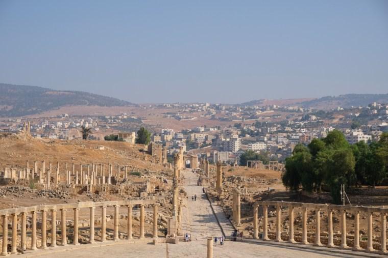 Oval Forum, Jerash, Jordan