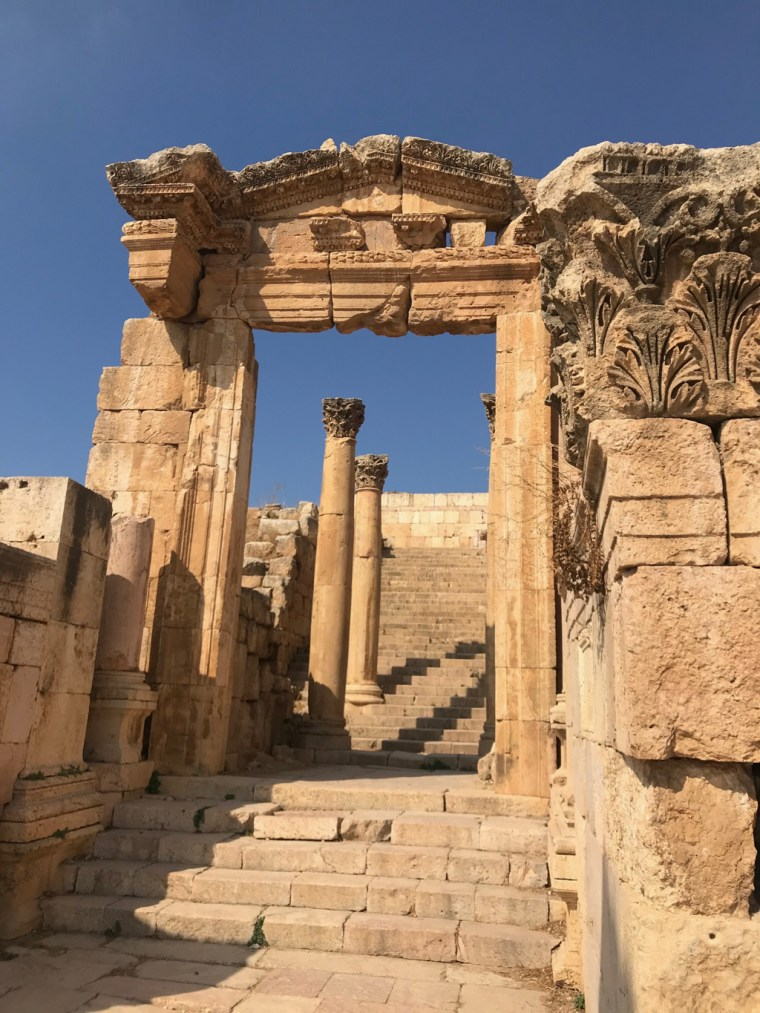 Colonnaded Street, Jerash, Jordan