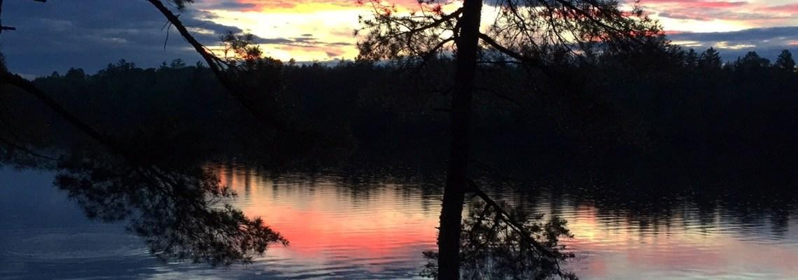Ely, Minnesota sunset