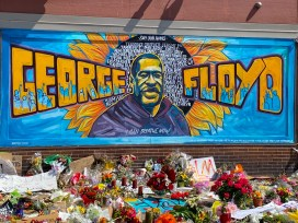 George Floyd Mural at Cub Foods (38th and Chicago in Minneapolis).