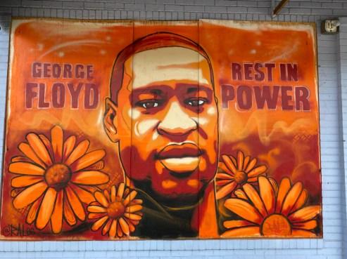 George Floyd murals of Minneapolis