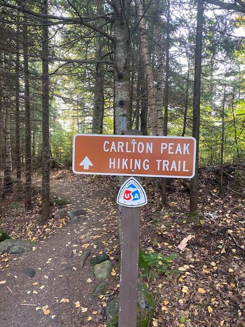 Carlton Peak Trail