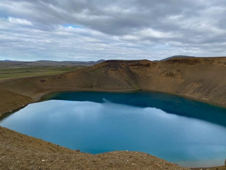 Viti Crater Lake, Myvatn, Iceland