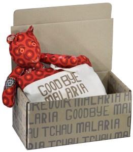 Goodbye Malaria teddy bear