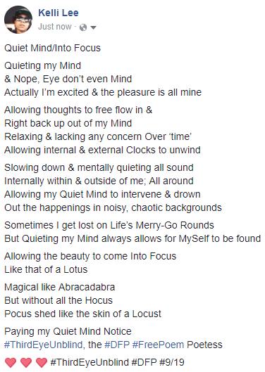 Quiet Mind_Into Focus
