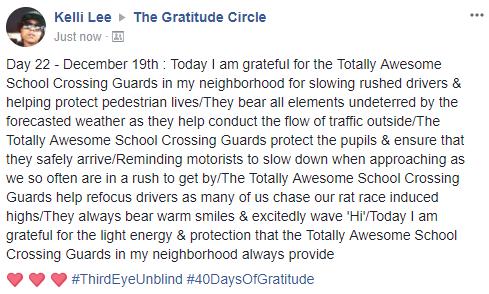 Gratitude 2 Day 22 2017-12-19