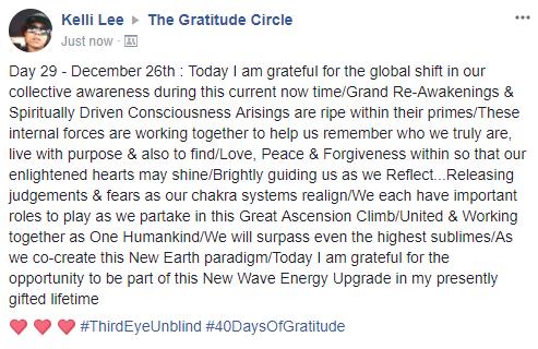 Gratitude 2 Day 29 2017-12-26
