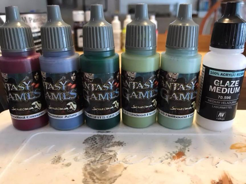 The Paint Desk – Painting Undead Skin (How To)
