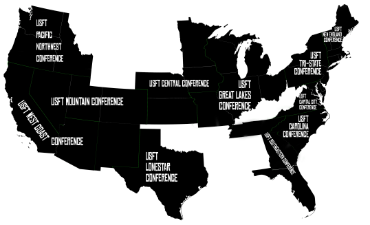 USFT Map - Conferences