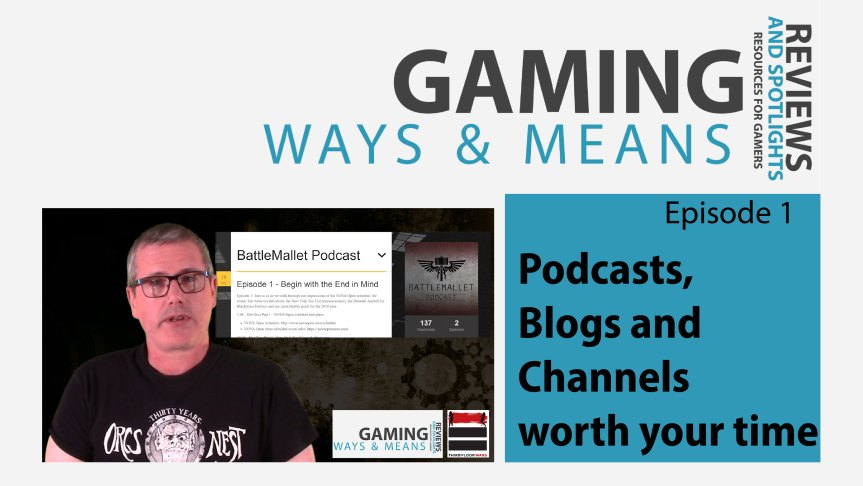 Podcasts, Blogs and Channels for Gamers – Gaming Ways and Means
