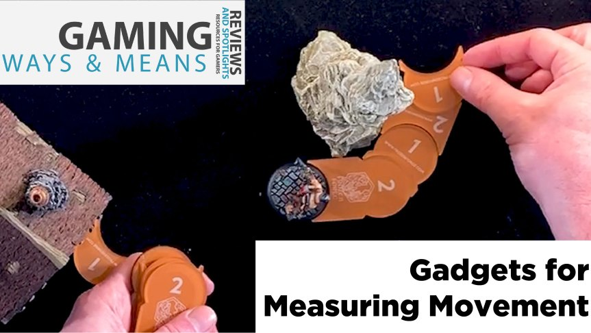 Gadgets for Measuring in War Games