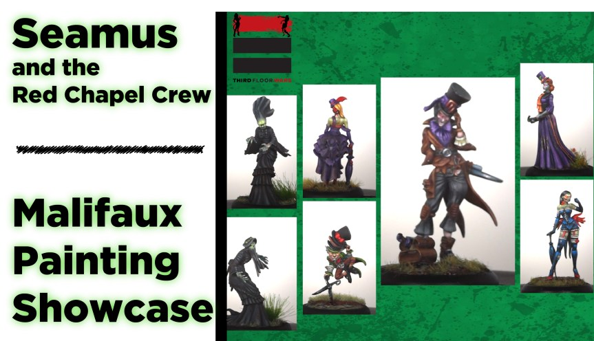 Seamus and Crew Painted Showcase