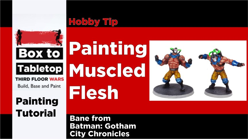Painting Muscled Flesh