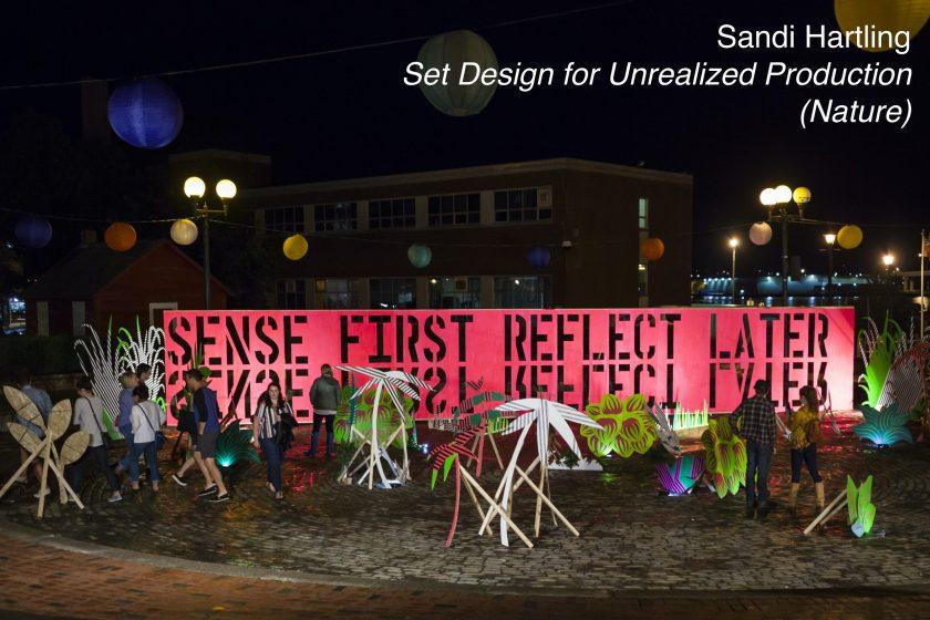 Sandi Hartling - Set Design for Unrealized Production