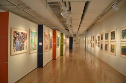 MoAD interior gallery view. Courtesy of MoAD ©2011.