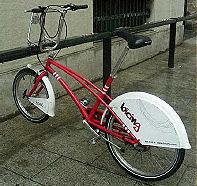 Bike design- Bicing bike share. Barcelona, Spain 2008. Photo by Jack Becker, Third Wave Cycling Group.