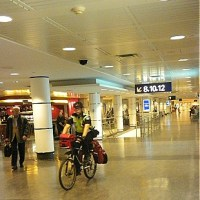 Cycling to Airport Departure Gates